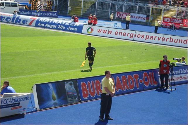 Burkhardt-Oil Sponsor des FC Carl Zeiss Jena